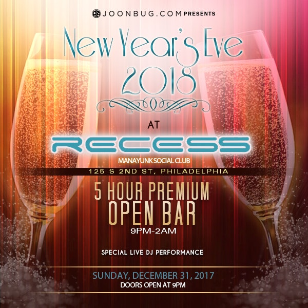 Philly All Access NYE Party Pass Philadelphia NYE