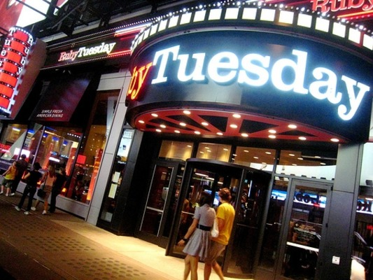 Ruby Tuesday Times Square New York City New Years Eve