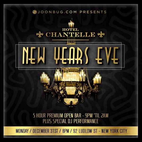 The Crystal Tea Room  C2 B7 New Years Eve Celebrations