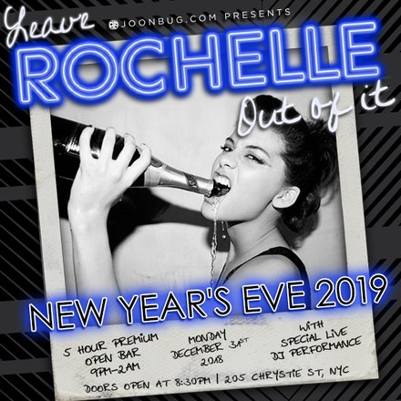 Rochelle's | New York New Years Parties | Buy Tickets Now