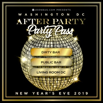 DC All Access NYE Party Pass