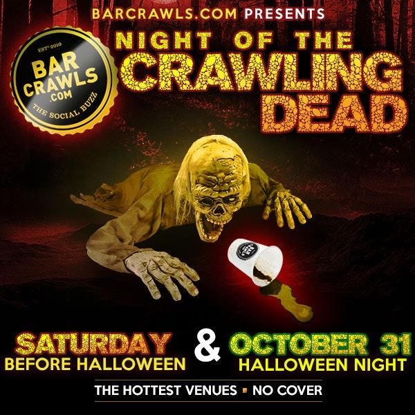 Boston Night of the Crawling Dead Bar Crawl Day 1