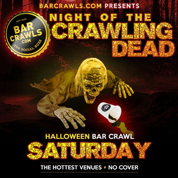 Hoboken Night of the Crawling Dead Bar Crawl Day 1