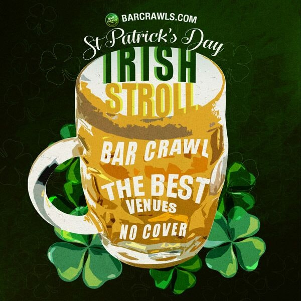 Buffalo St Patrick's Irish Stroll Bar Crawl