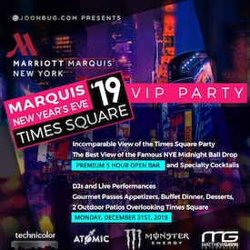 Marquis New Year's Eve VIP Party