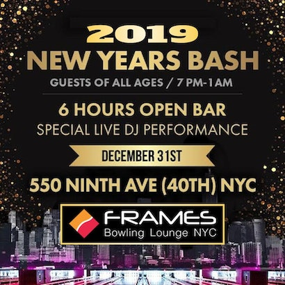 Frames Times Square New York New Years Eve Party Buy Tickets Now