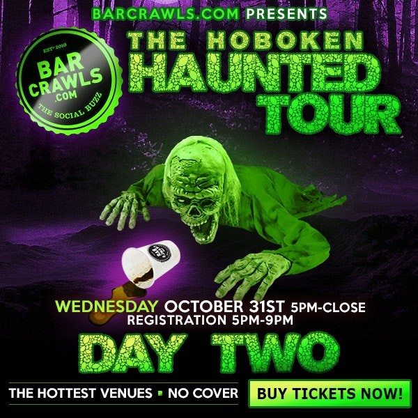 Hoboken Halloween Bar Crawl Oct 31