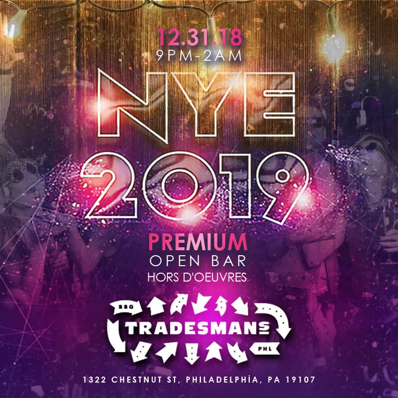 Tradesmans Vip Nye Party Buy Tickets Now