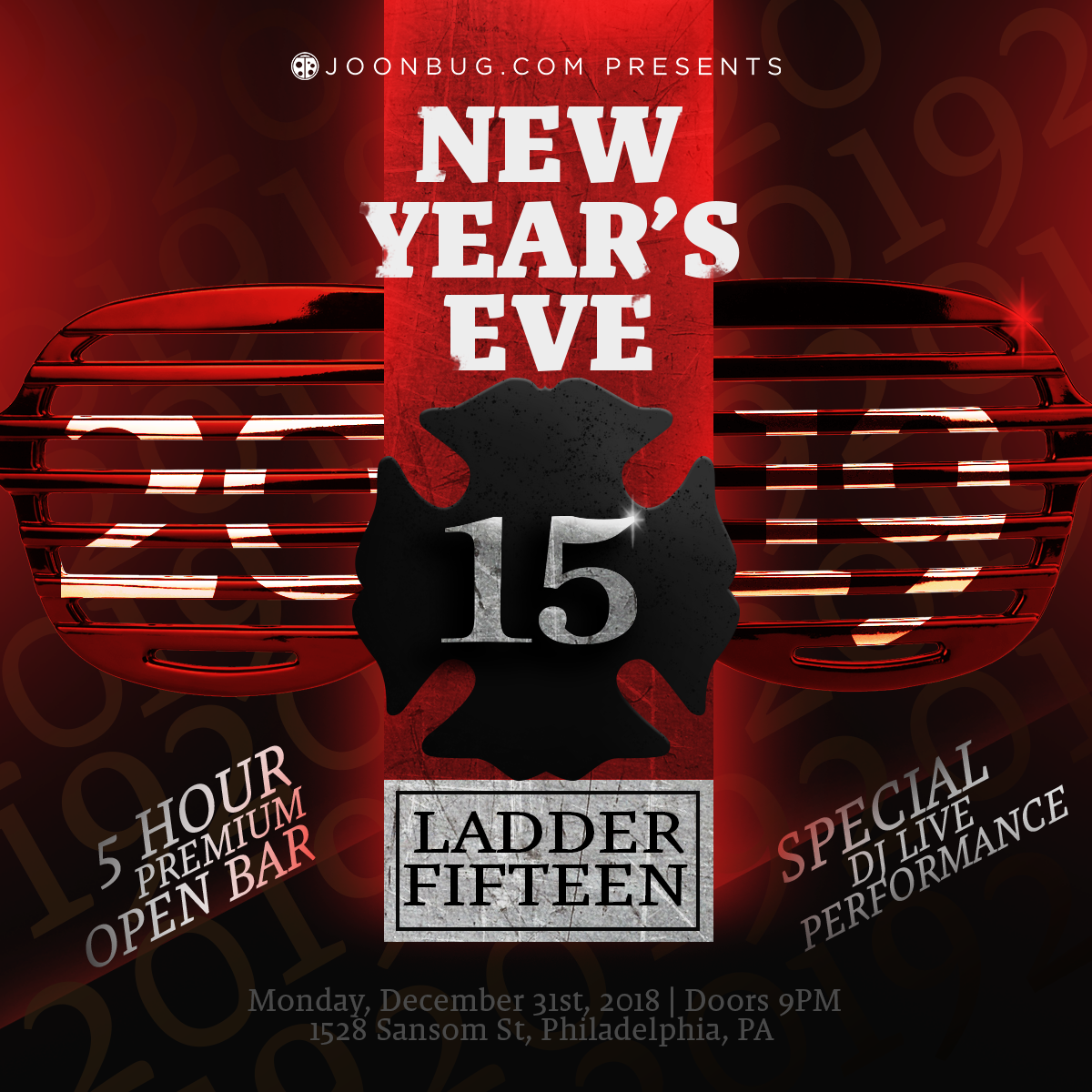Ladder 15 New Years Flyer