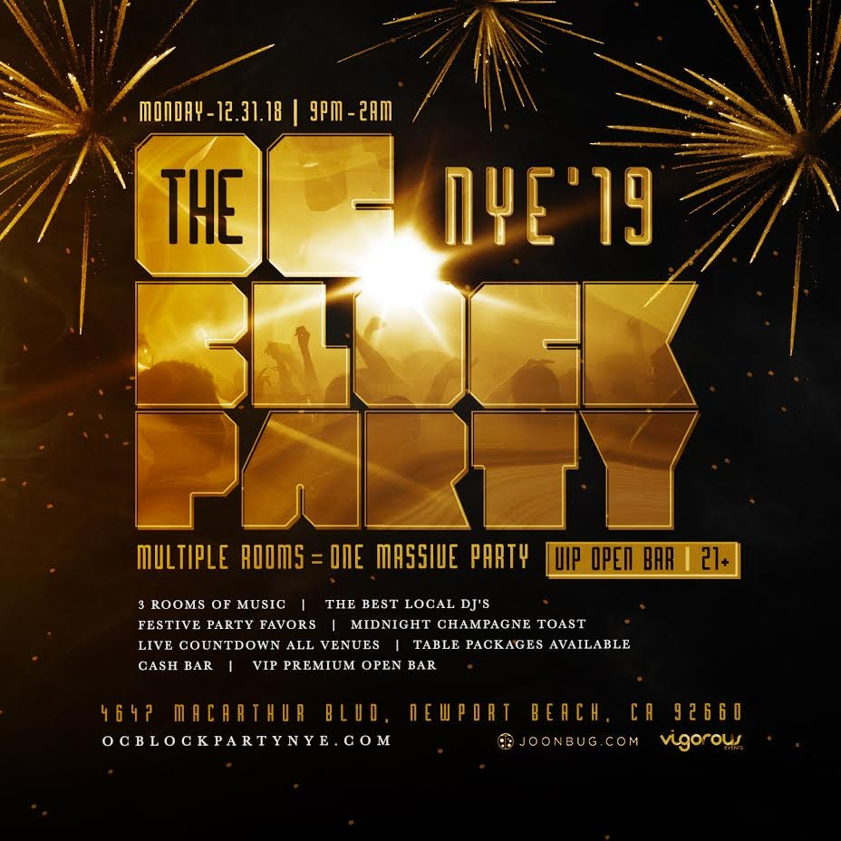Official Orange County NYE BLOCK PARTY
