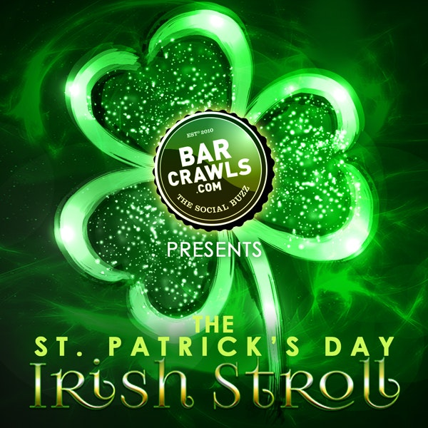 New York St Patrick's Bar Crawl Day