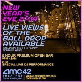 AMC Times Square NYE Ball Drop Live View