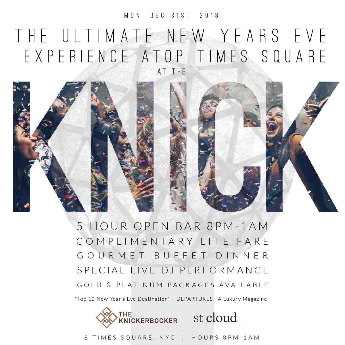 times square nyc new years eve parties