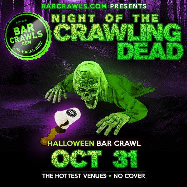 Chicago Halloween Bar Crawl Oct 31