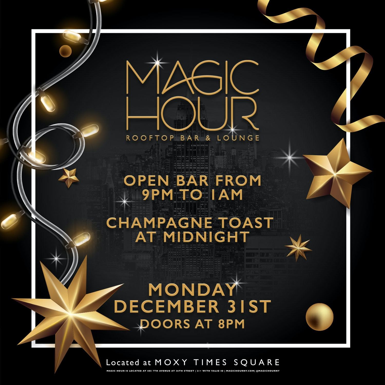 Magic Hour @ Moxy Hotel Times Square