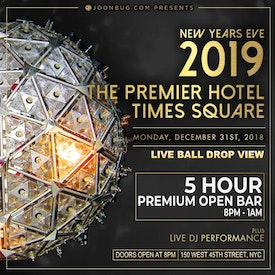 Premier Hotel Times Square New Years Eve