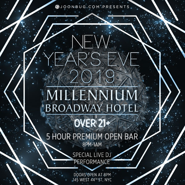 Millennium Broadway Hotel Ball Drop View