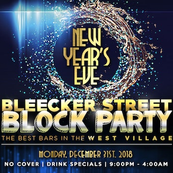 Bleecker St New Year's Eve Block Party
