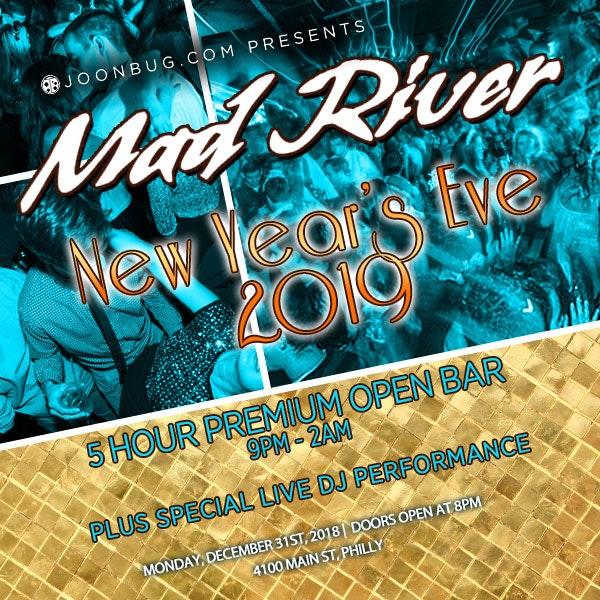 Mad River (Manayunk) New Years Flyer