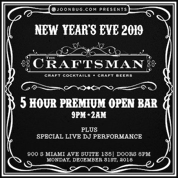 New Years Eve at The Craftsman