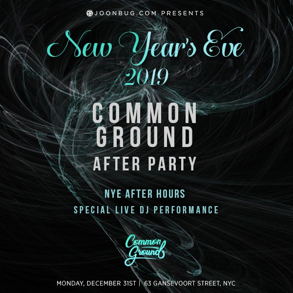 Common Ground After Party (Formerly Invite Only )