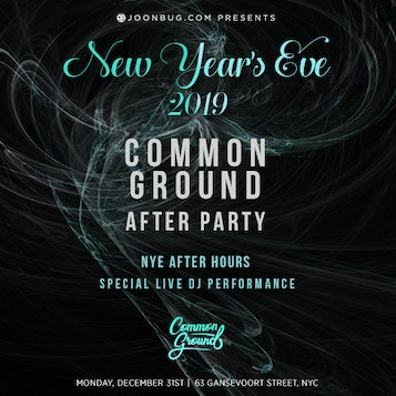 Common Ground After Party