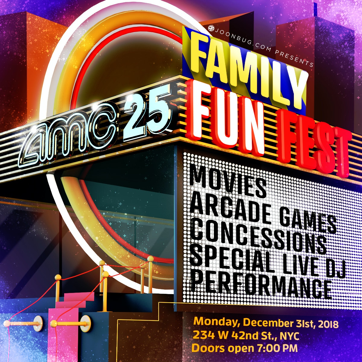AMC NYE Family Fun Fest