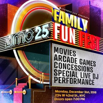 AMC Times Square NYE Family Fun Fest