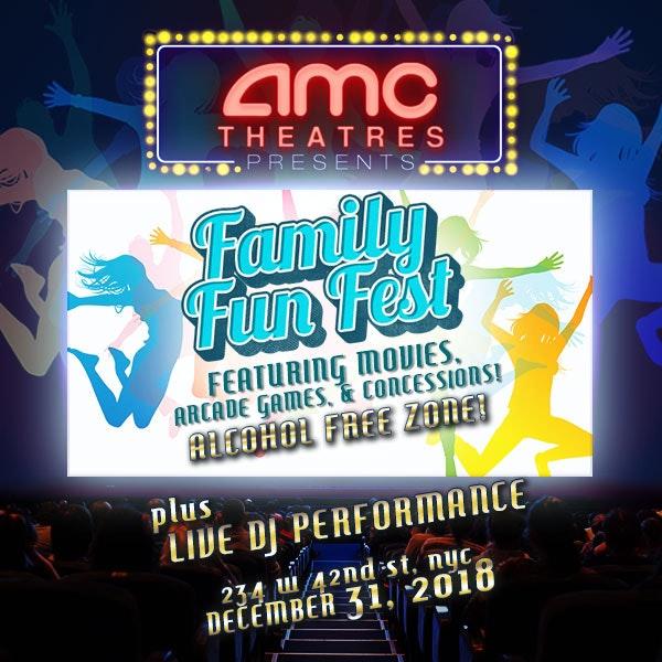 AMC NYE Family Fun Fest