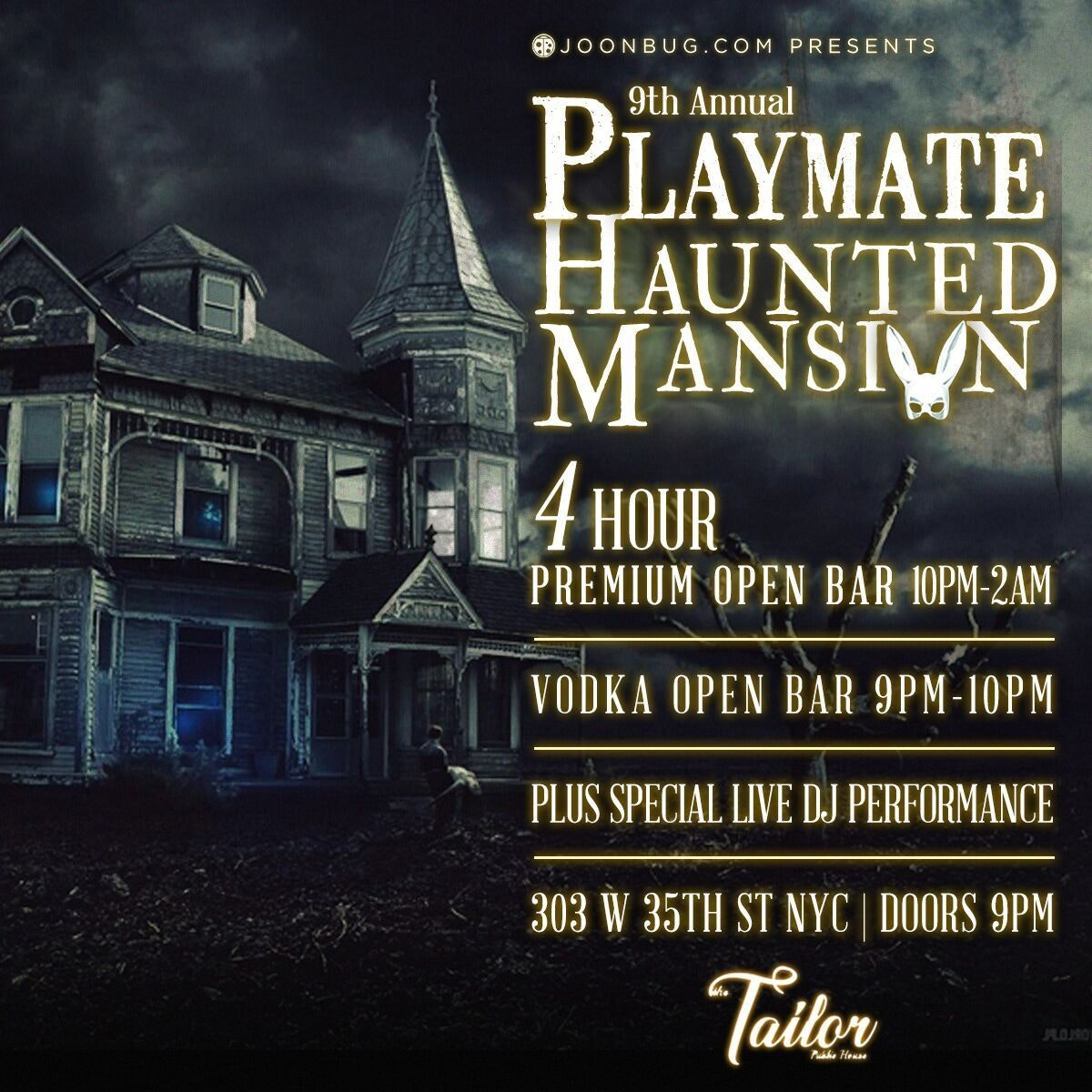 The Official Playmate Haunted Mansion