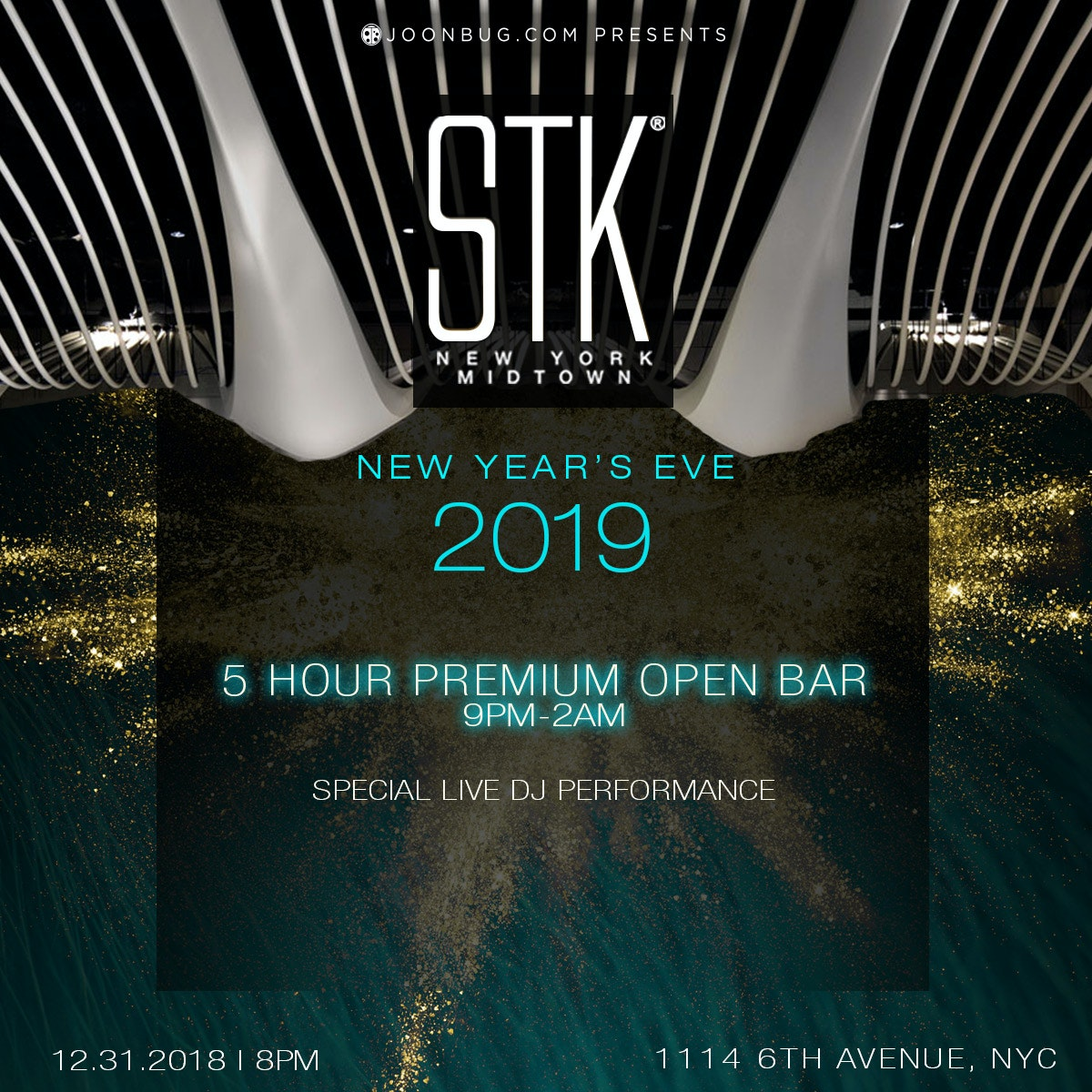 STK Midtown New Years Flyer