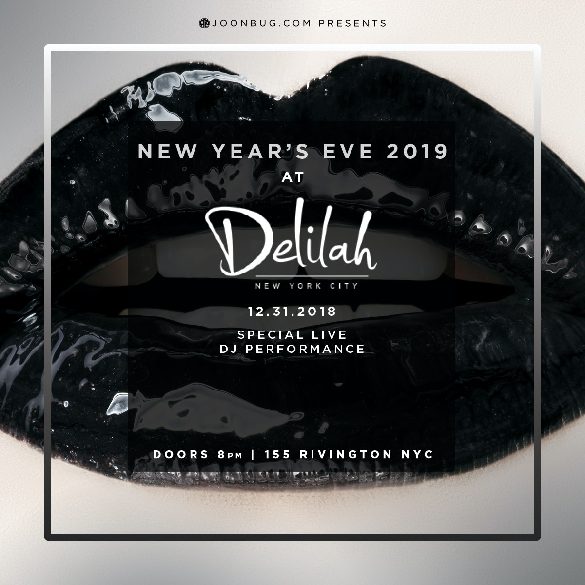 Delilahs New Years Flyer