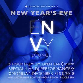 Envy Lounge NYE19