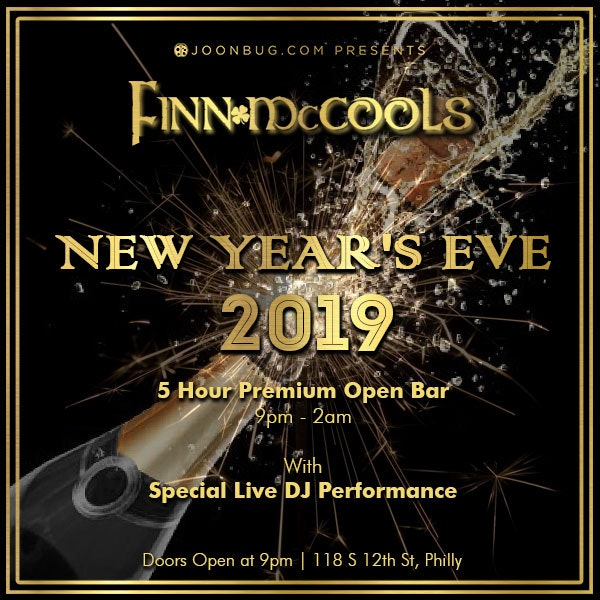 New Years Event Flyer