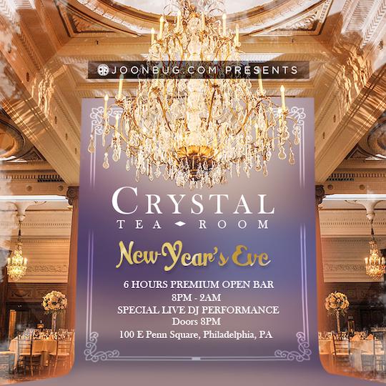 The Crystal Tea Room Philadelphia Vip New Years Parties