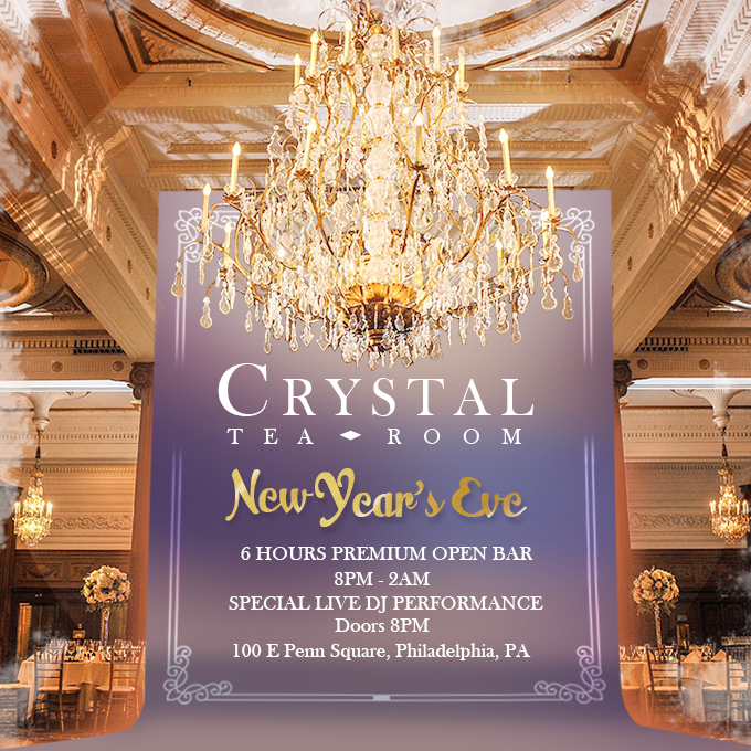 Crystal Tea Room New Years Eve