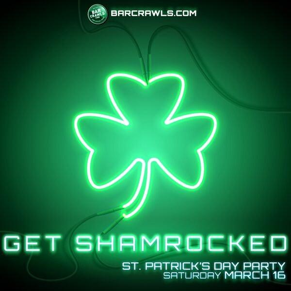 Nashville St Patrick's Day Get Shamrocked Party