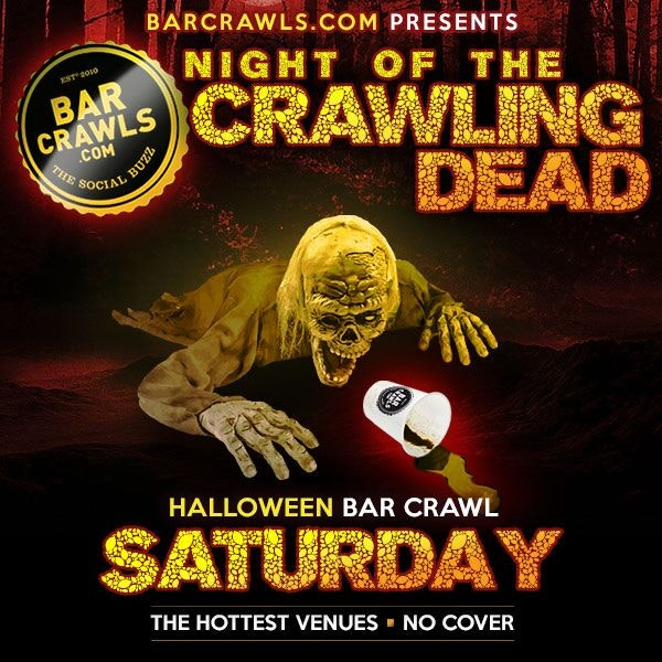 Philadelphia Night of the Crawling Dead Bar Crawl Day 1