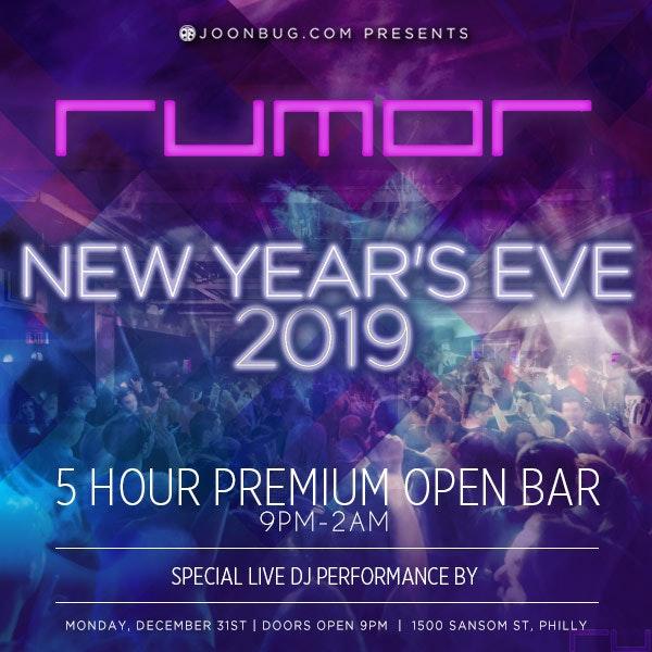 Rumor New Years Flyer