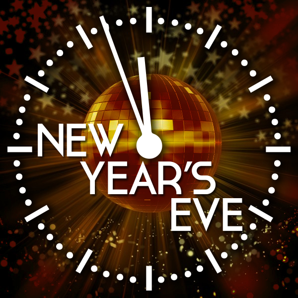 Wonderful New Years Event Flyer