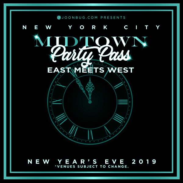 PARTY PASS - Midtown New Years Flyer