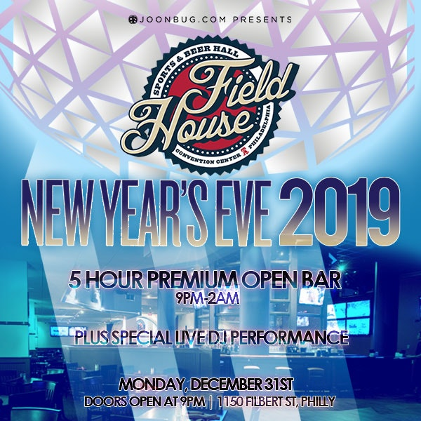 Field House New Years Flyer