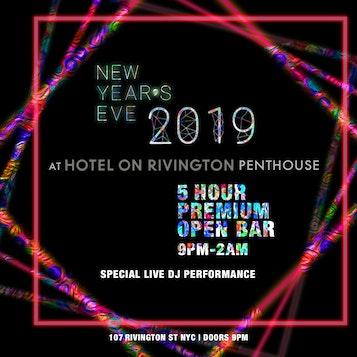Hotel on Rivington Penthouse