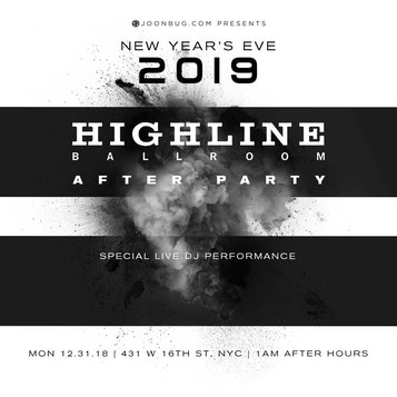 Highline Ballroom After Party