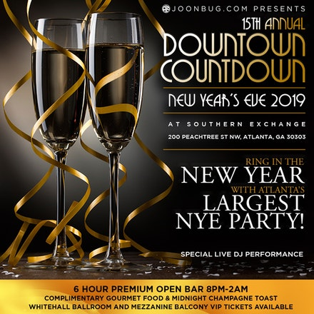 Southern Exchange at 200 Peachtree   Atlanta New Years ...
