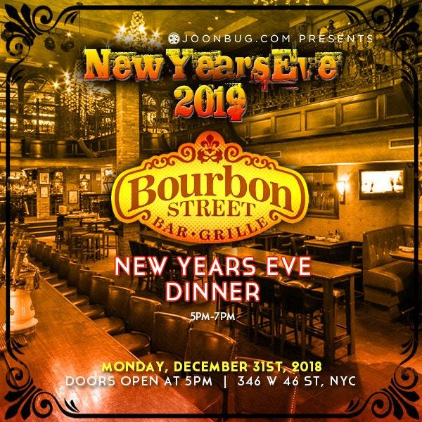 Bourbon Street Dinner