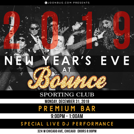 Bounce Chicago NYE 12/31/18