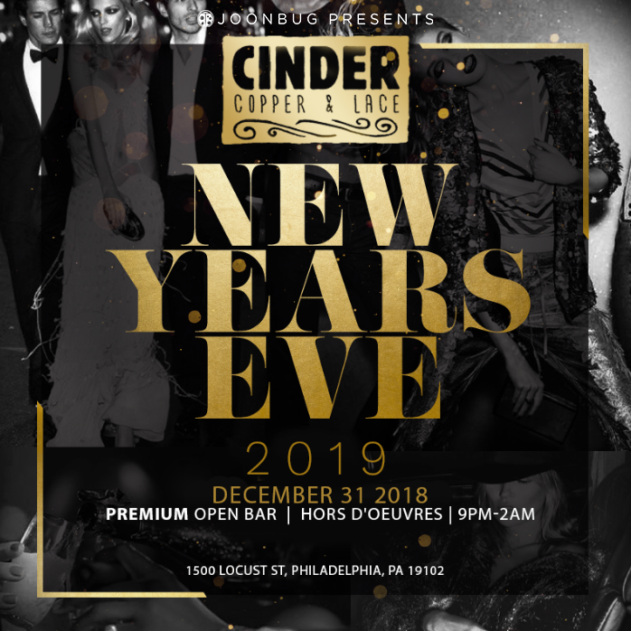 Cinder New Years Flyer