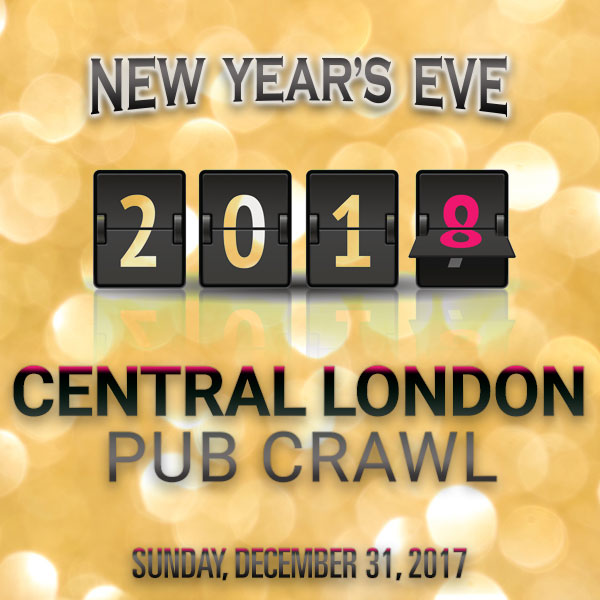 The Central London NYE Pub Crawl