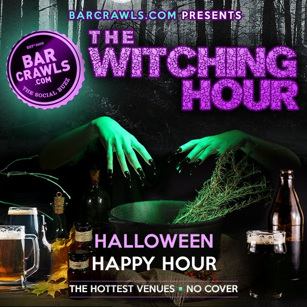 New York City Halloween Happy Hour